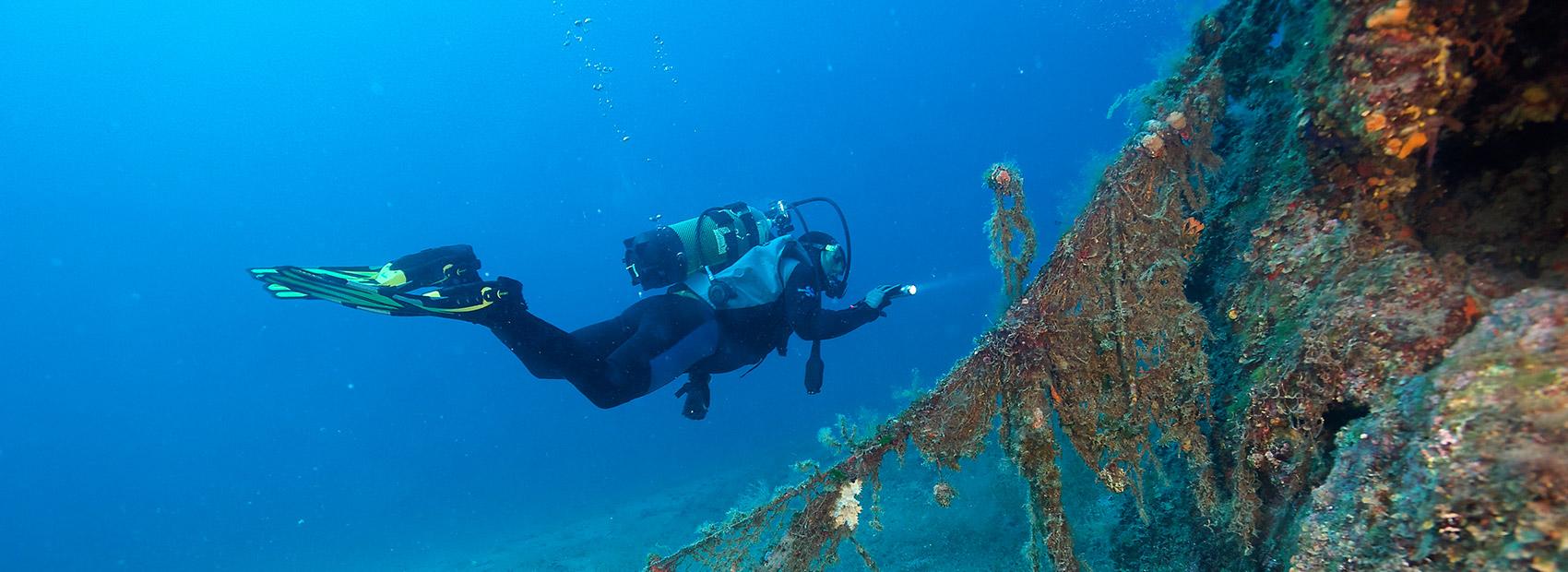 steilwand selbstständig tauchen divingcenter spiro sub elba
